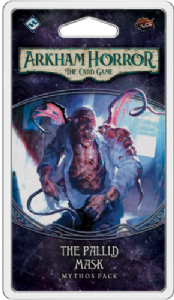 Arkham Horror : The Card Game – The Pallid Mask Mythos Pack